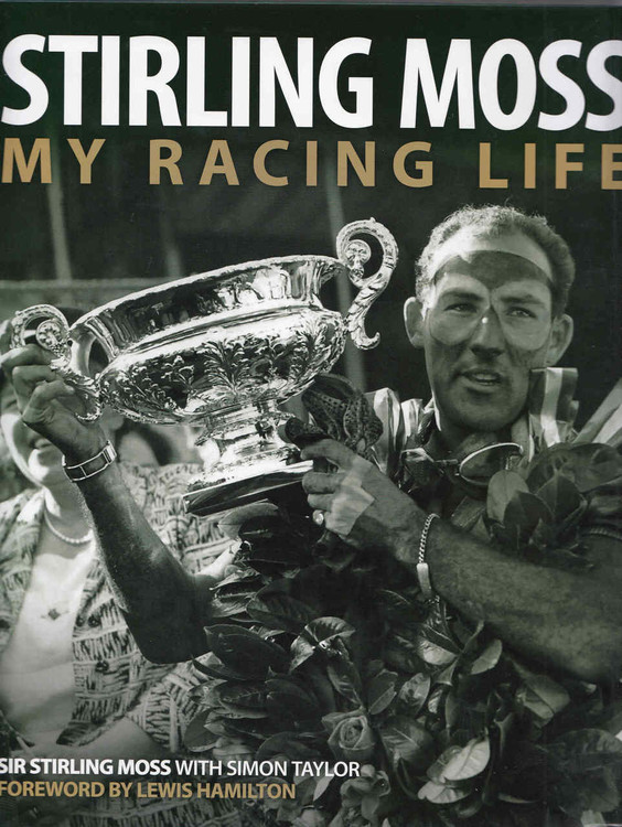 Stirling Moss: My Racing Life  - front