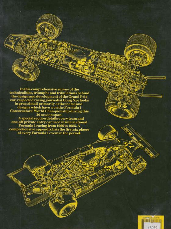 Autocourse History Of The Grand Prix Car 1966-85 - back