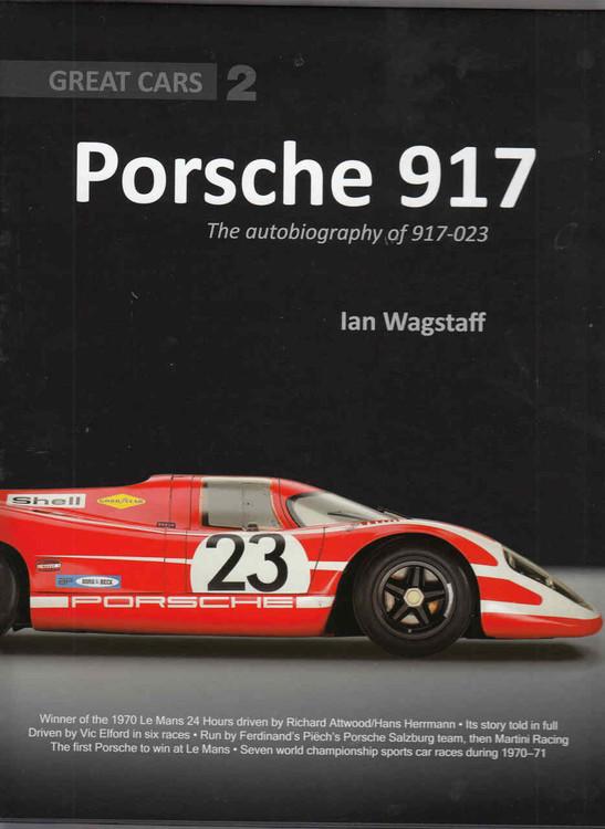 Porsche 917: The Autobiography of 917-023 - front