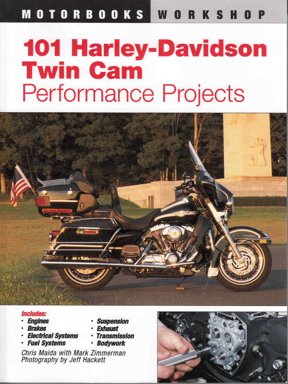 101 Harley-Davidson Twin Cam Performance Projects - front