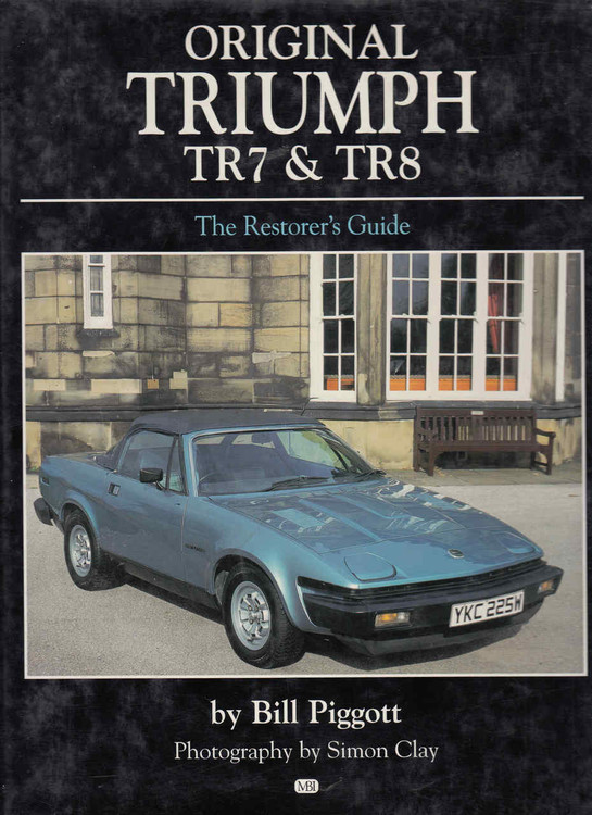 Original Triumph TR7 & TR8 - front