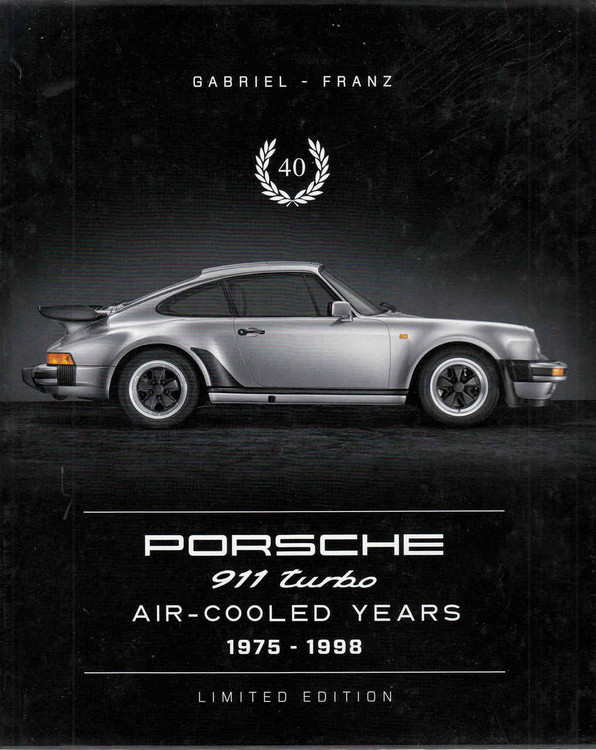 Porsche 911 Turbo Air-Cooled Years 1975-1998 Limited Edition  - front