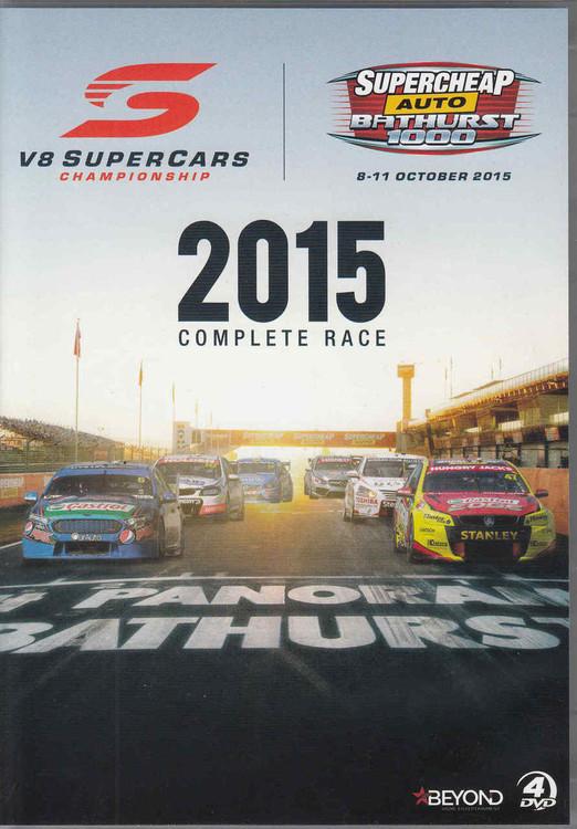 Bathurst 2015 Complete Race DVD - front