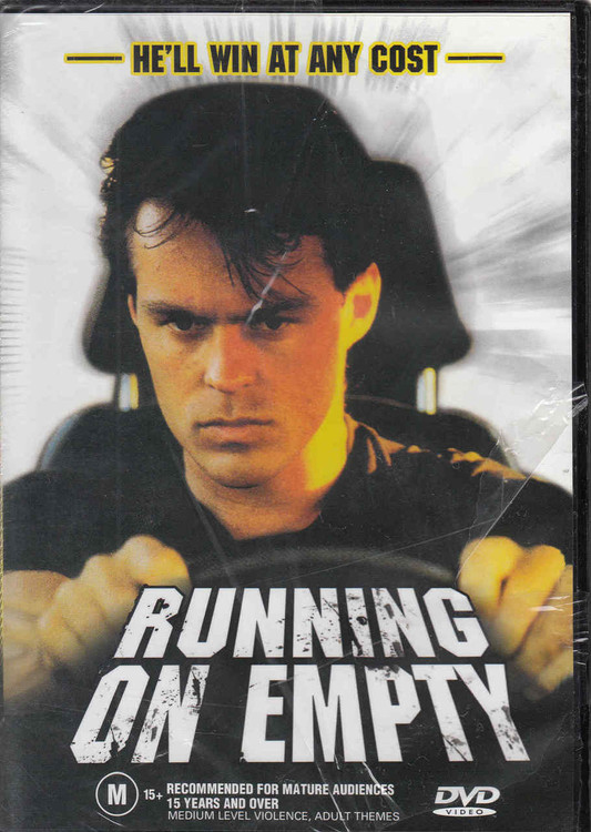 Running On Empty Australian Cult Film DVD