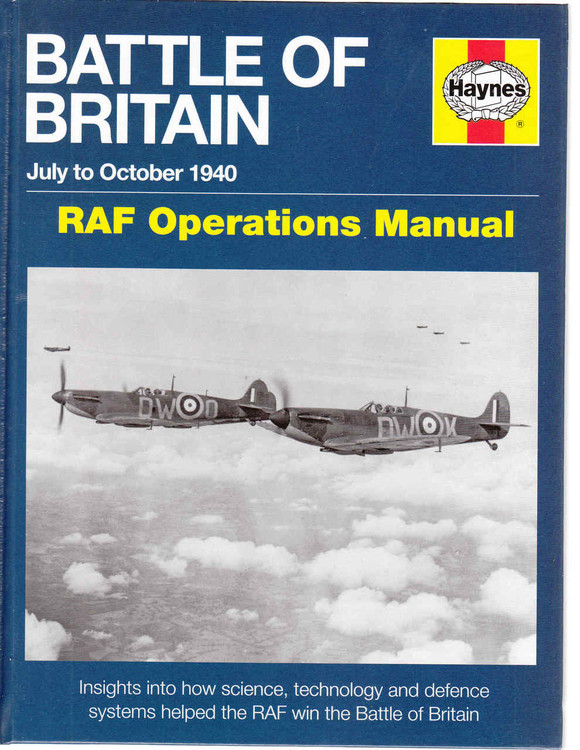 Battle of Britain July to October 1940 RAF Operation Manual