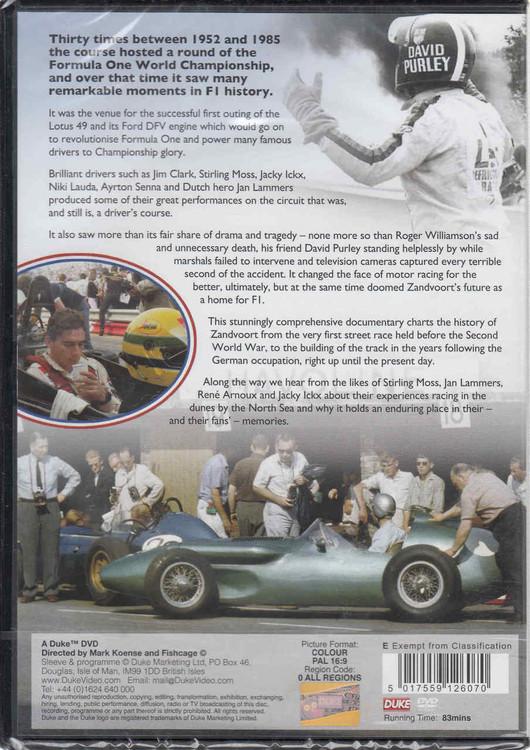Grand Prix Zandvoort: The Complete History Of The Dutch Grand Prix 1948 - 1985 DVD