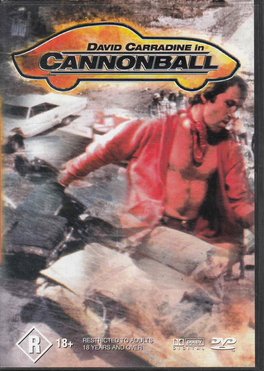 David Carradine in Cannonball DVD