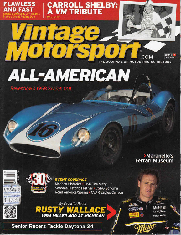 intage Motorsport Magazine Jul/Aug 2012 - The Journal of Motor Racing History