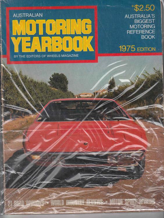 Australian Motoring Yearbook 1975 Edition