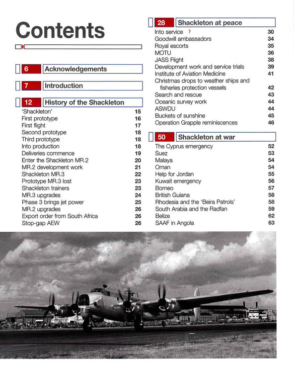 Avro Shackleton 1949 to 1991 (all marks) Owners' Workshop Manual  - cont 1