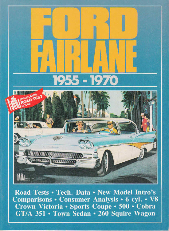 Ford Fairlane 1955 - 1970 RoadTests (9781870642750) - front