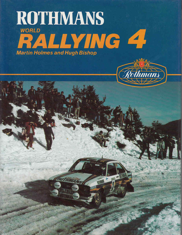 Rothmans World Rallying 4 (0850454247) - front