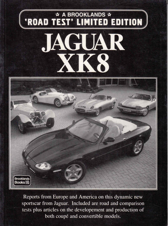 Jaguar XK8 A Brooklands 'Road Test' Limited Edition (9781855203914) - front