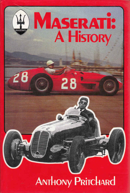 Maserati: A History (Reprint) (9781903088074)