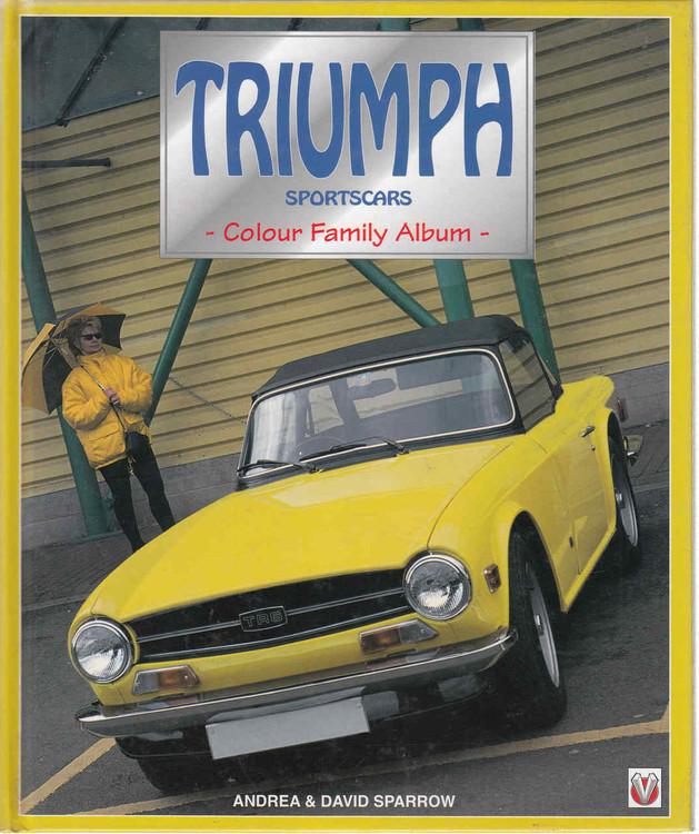 Triumph Sportscars: Colour Family Album (9781901295276) - front