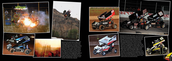 Caged Heat - The Wild World of Sprint Car Racing