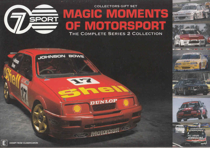 Magic Moments Of Motorsport The Complete Series 2 Collection (9340601001541) - front