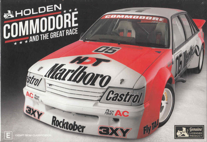 Holden Commodore And The Great Race Gift Set DVD (9340601001824) - front