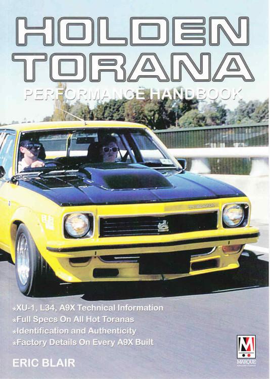 Holden Torana Performance Handbook (9780947079789)  front