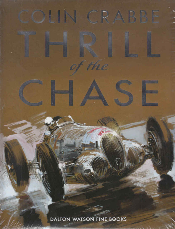 Colin Crabbe: Thrill Of The Chase (9781854432766)  - front