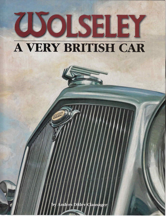 Wolseley: A Very British Car (9781906133733) - front