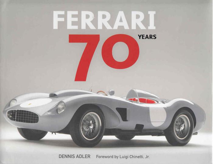 Ferrari 70 Years (9780760351895)