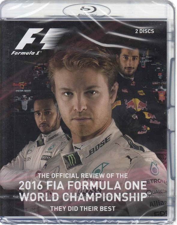 Formula One 2016 Offiicial Review - They Did Their Best Bluray