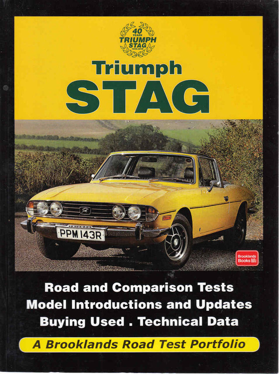 Triumph Stag: A Brooklands Road Test Portfolio (9781855208933)