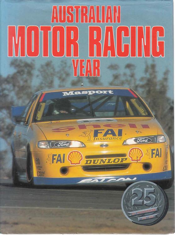 Australian Motor Racing Year Number 25 1995 Yearbook (B35451B)