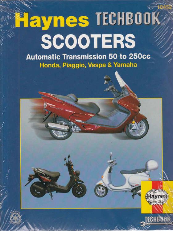 Scooters Automatic Transmission 50 to 250cc: Honda, Piaggio, Vespa & Yamaha (Techbook Series) (9781563926020)