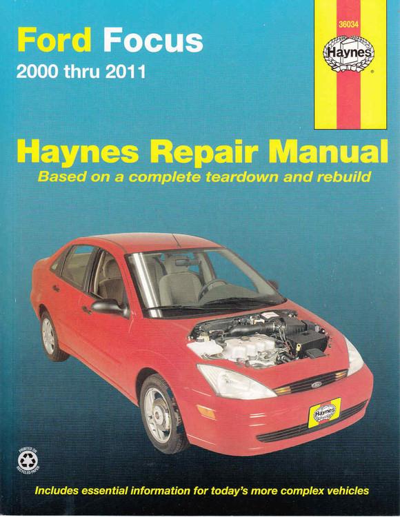 Ford Focus 2000 - 2011 (Petrol ) Workshop Manual (9781620920008)