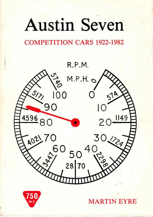 Austin Seven Competition Cars 1922 - 1982 (9780950812106)