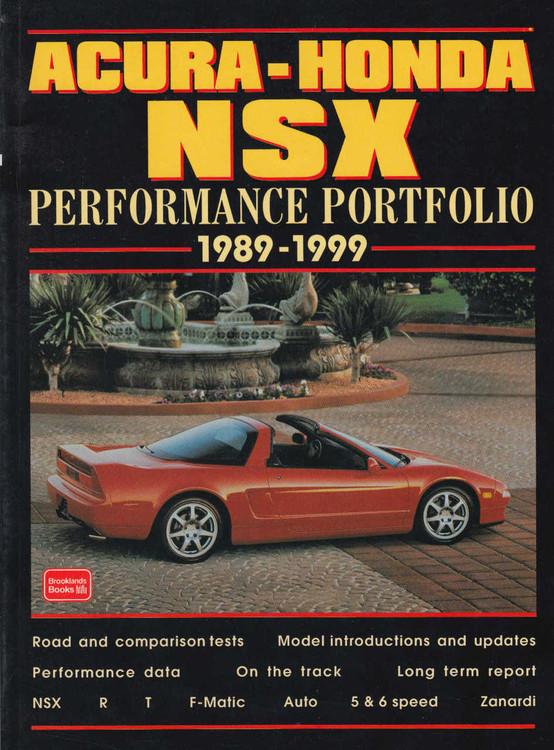 Acura - Honda NSX Performance Portfolio 1989-1999 (9781855204287)