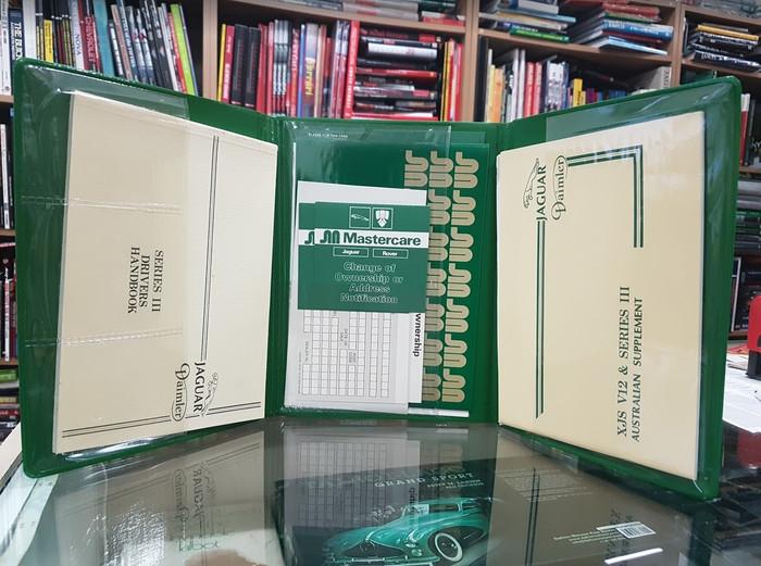 Jaguar Daimler Series III Drivers Handbook, XJS V12 Australian Supplement