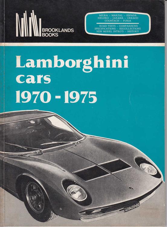 Lamborghini Cars 1970-1975 Road Tests