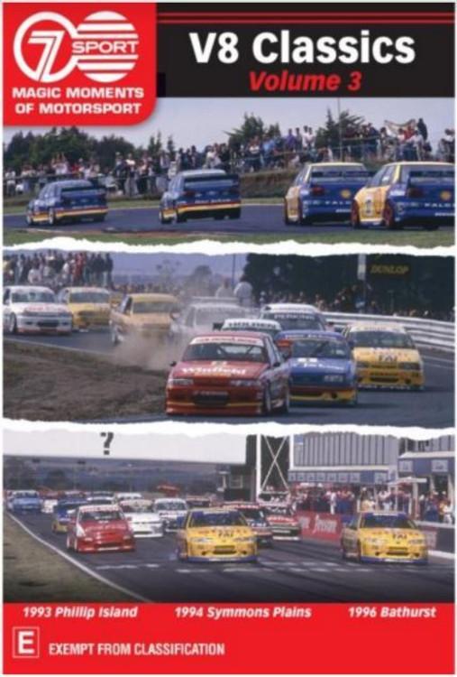 Magic Moments Of Motorsport - V8 Classics Volume 3 DVD (9340601001947)