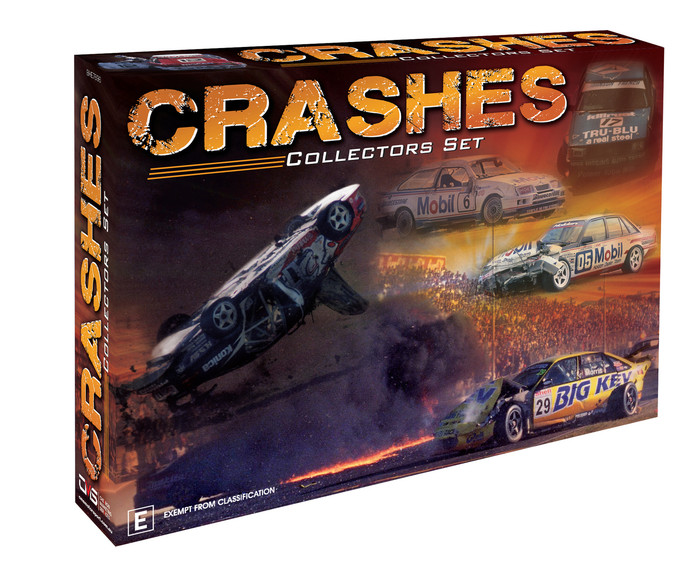 Crashes – Collectors Set dvd