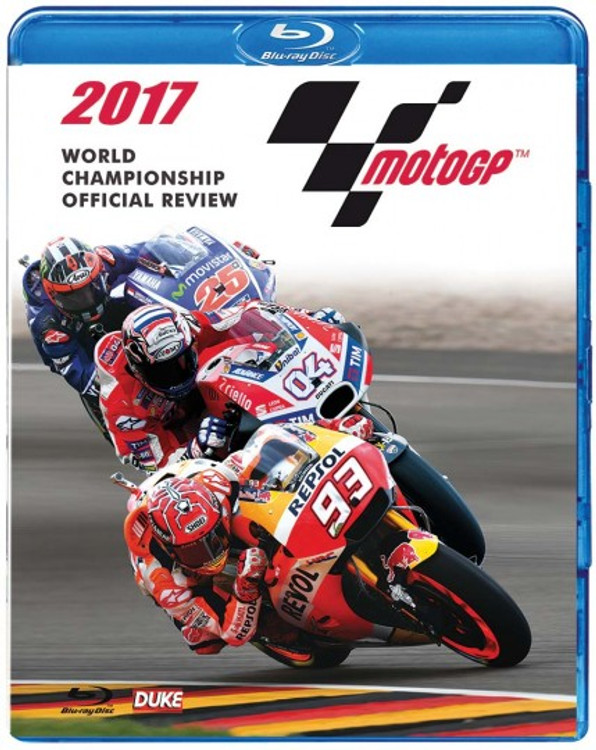 Motogp 2017 Review (285 Mins) Blu-ray