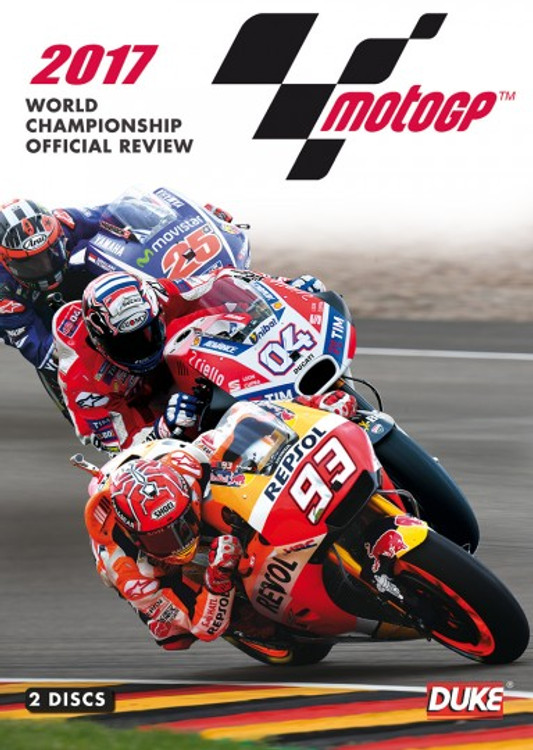 Motogp 2017 Review ( 2 Disc 285 Mins ) DVD