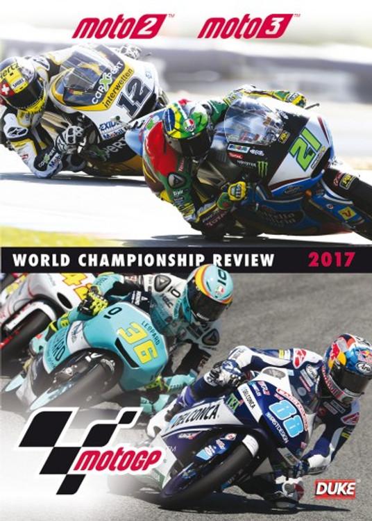 MotoGP 2017 - Moto2TM, Moto3TM - World Championship Review DVD