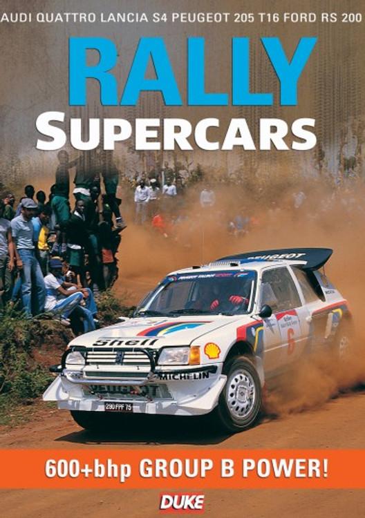 Rally Supercars DVD, 600+bhp Group B Power (55 Mins)