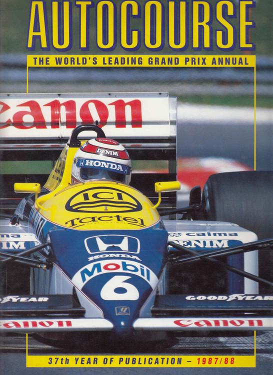 Autocourse 1987 - 1988 (No. 37) Grand Prix Annual