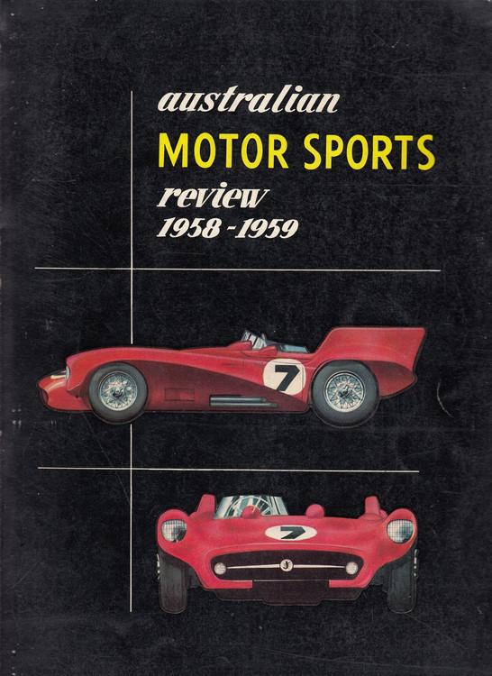 Australian Motor Sports Review 1958-1959