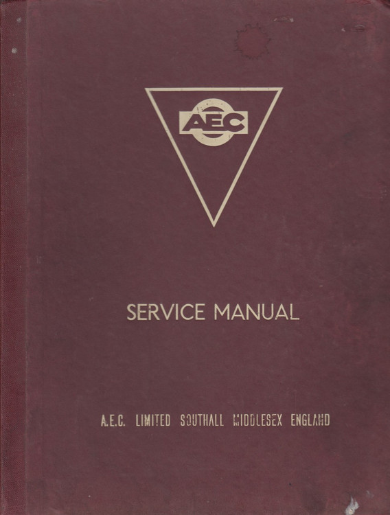 AEC Service Manual Mandator, Mark V Goods Chassis (A.E.C. Limited)