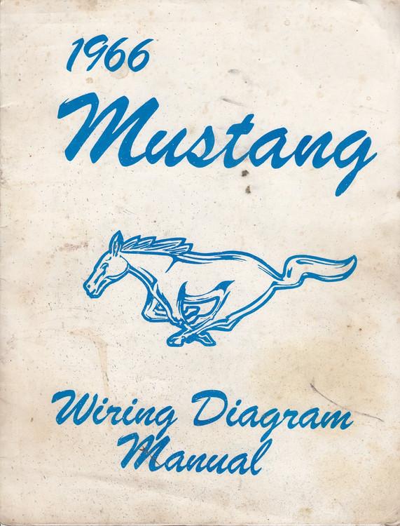 966 Ford Mustang Wiring Diagram Manual