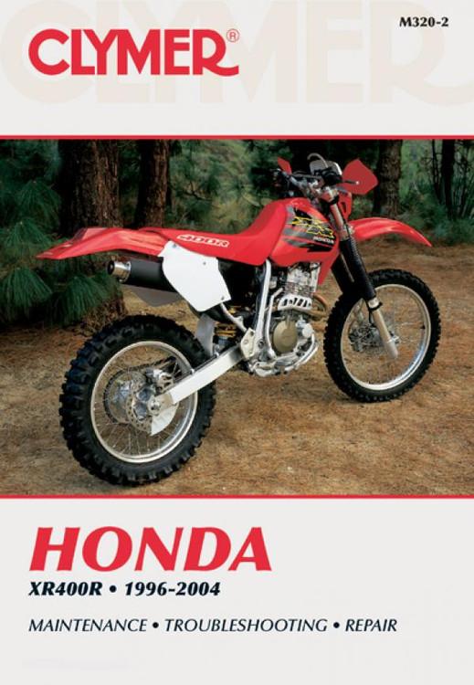 Honda XR400R 1996 - 2004 Clymer Workshop Manual