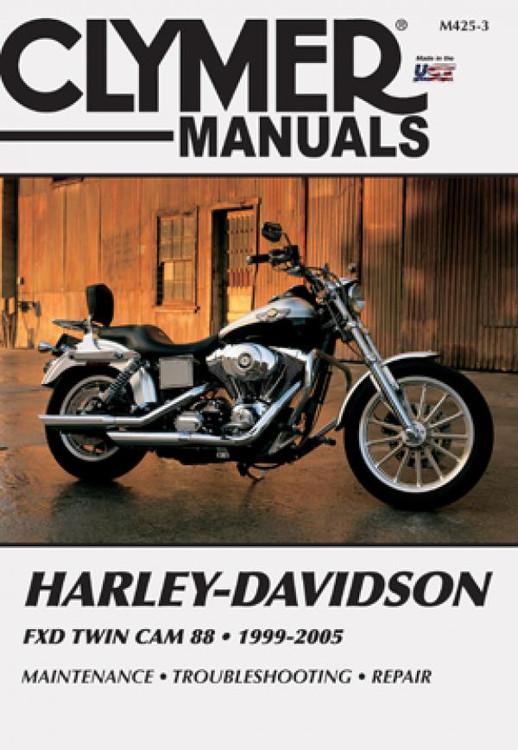 Harley-Davidson FXD TWIN CAM 88 1999-2005 Workshop Manual