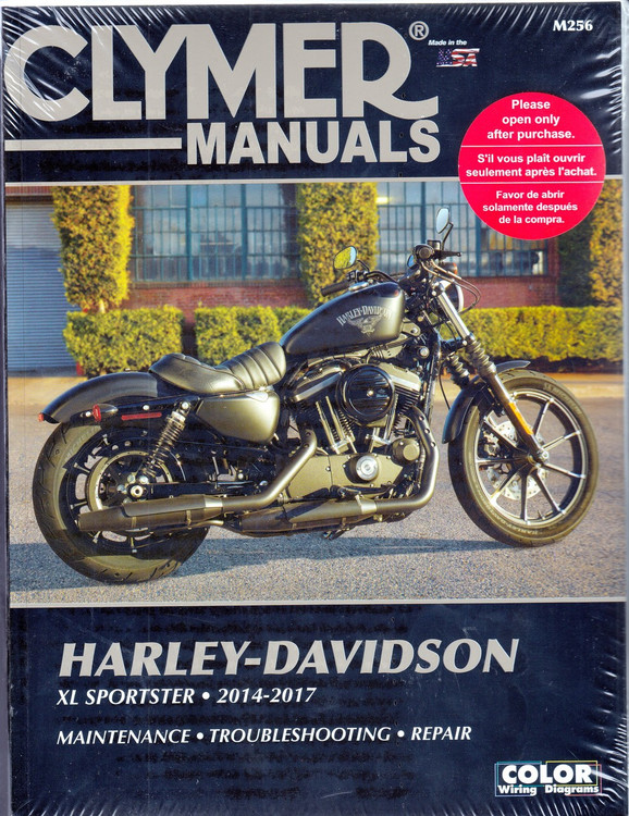 Harley-Davidson XL Sportster 2014 - 2017 Workshop Manual on