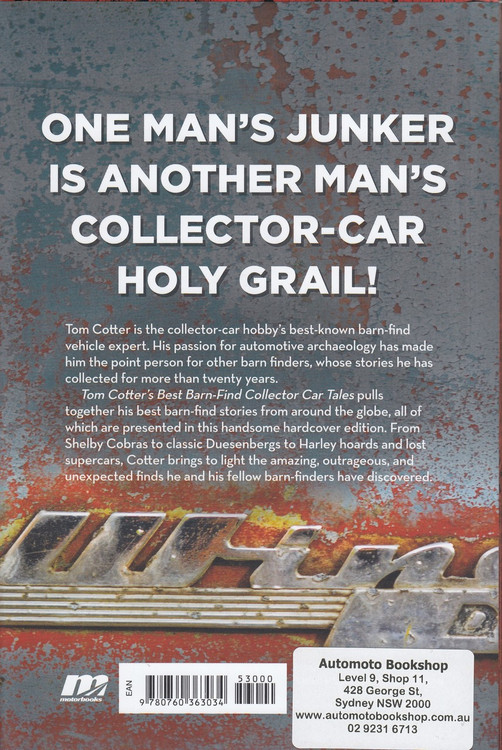 Tom Cotter's Best Barn-Find Collector Car Tales (9780760363034)