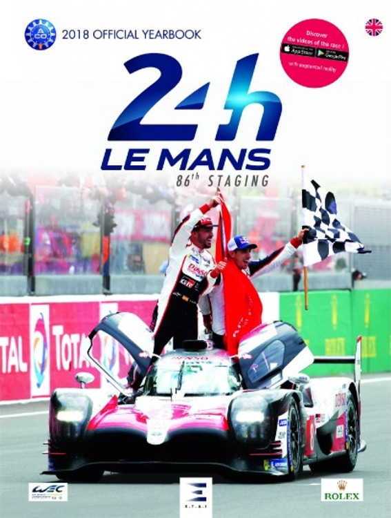 Le Mans 24 Hours 2018 Official Yearbook (English Version) (9791028303105)